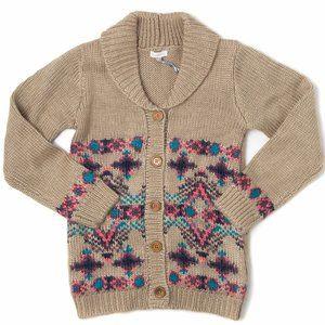 CONFETTI Button Down Knit Jacket Cardigan NWT